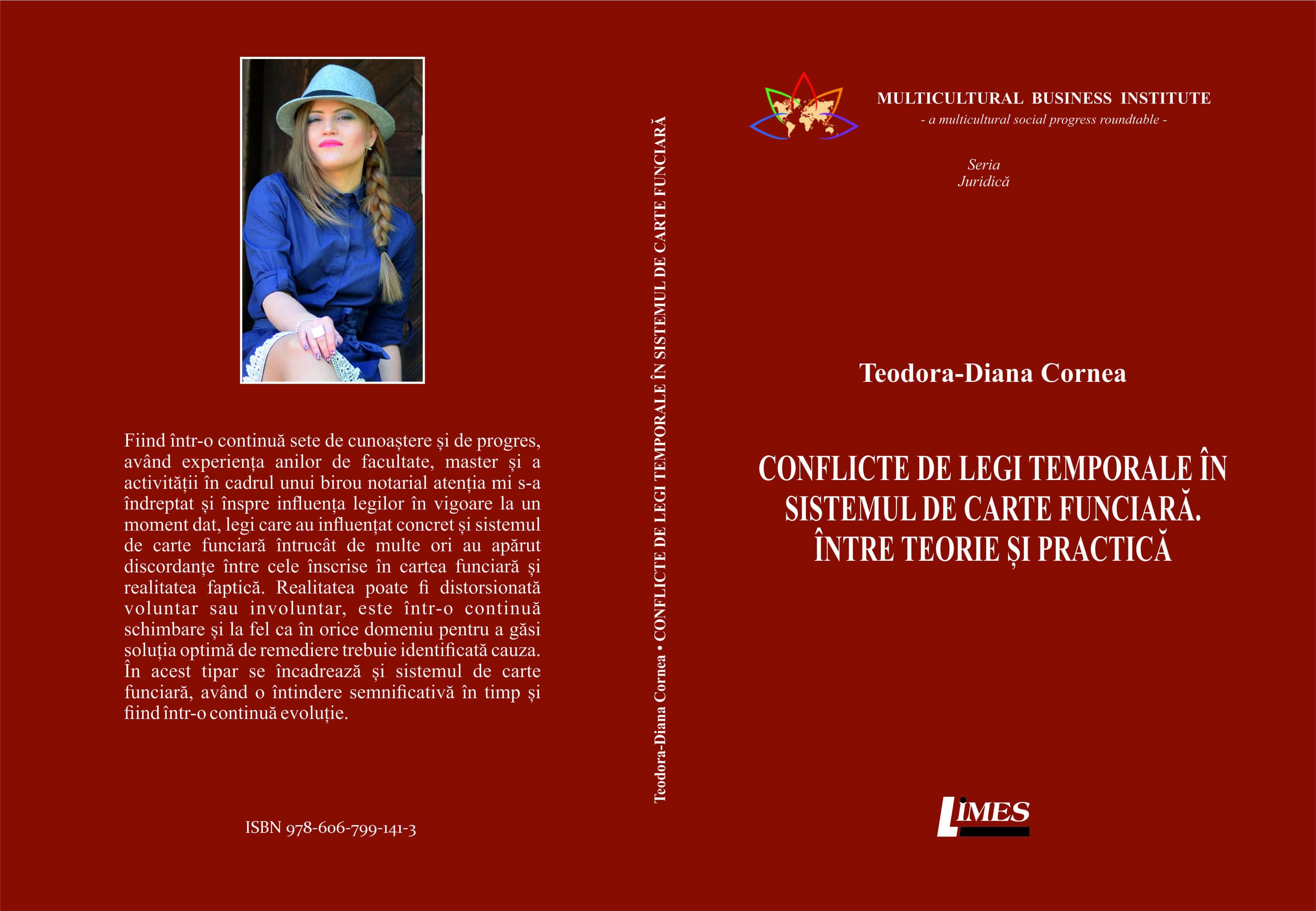 Coperta Diana Cornea2 - Conflictul de legi temporale