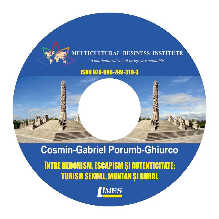 Între hedonism, escapism si autenticitate - Cosmin Ghiurco (CD)