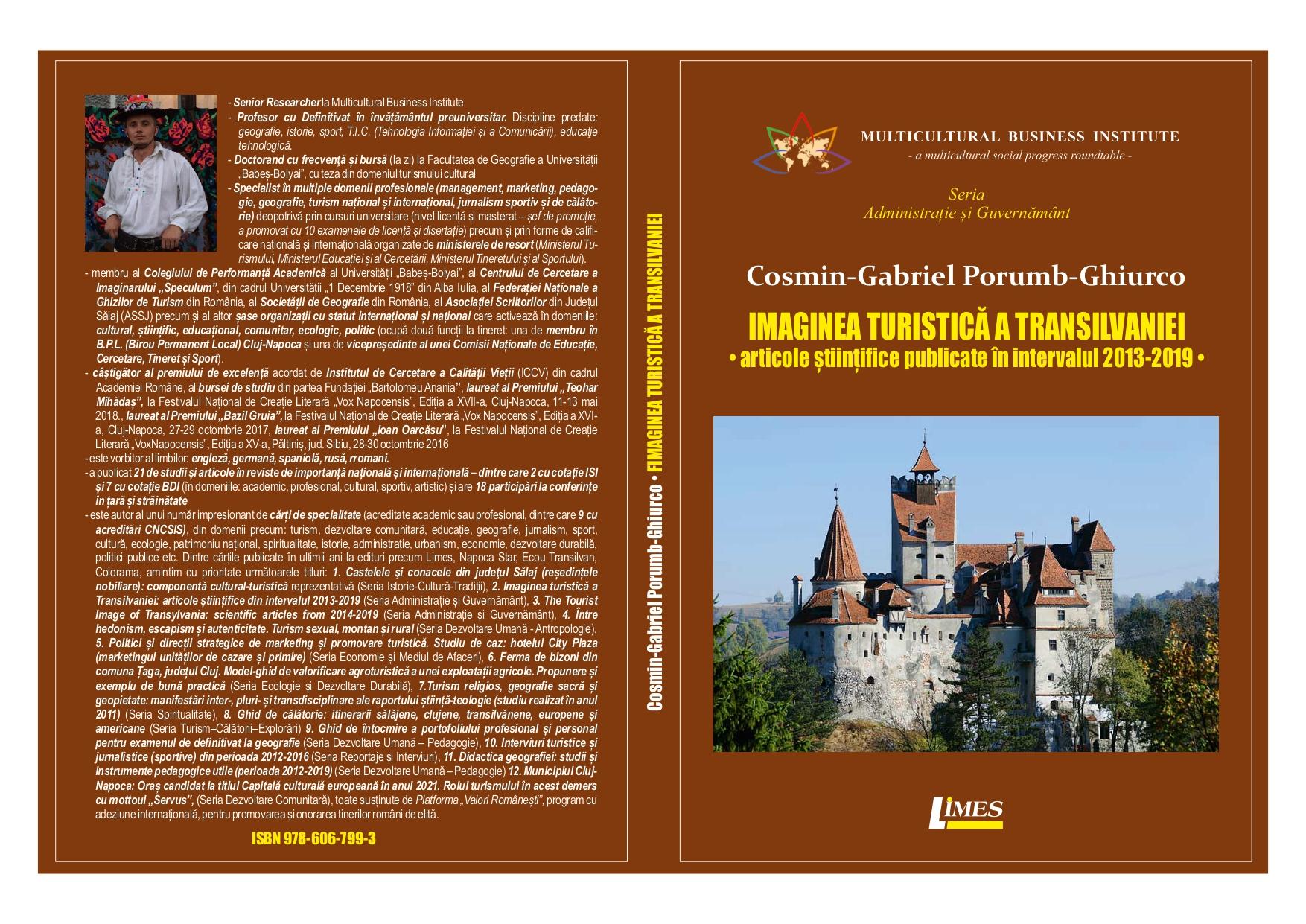 Imaginea turistică a Translivaniei - Cosmin Ghiurco