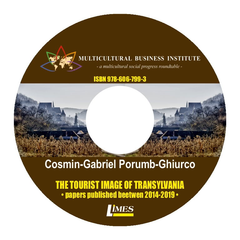 The tourist image of Transylvania - Cosmin Ghiurco (CD)