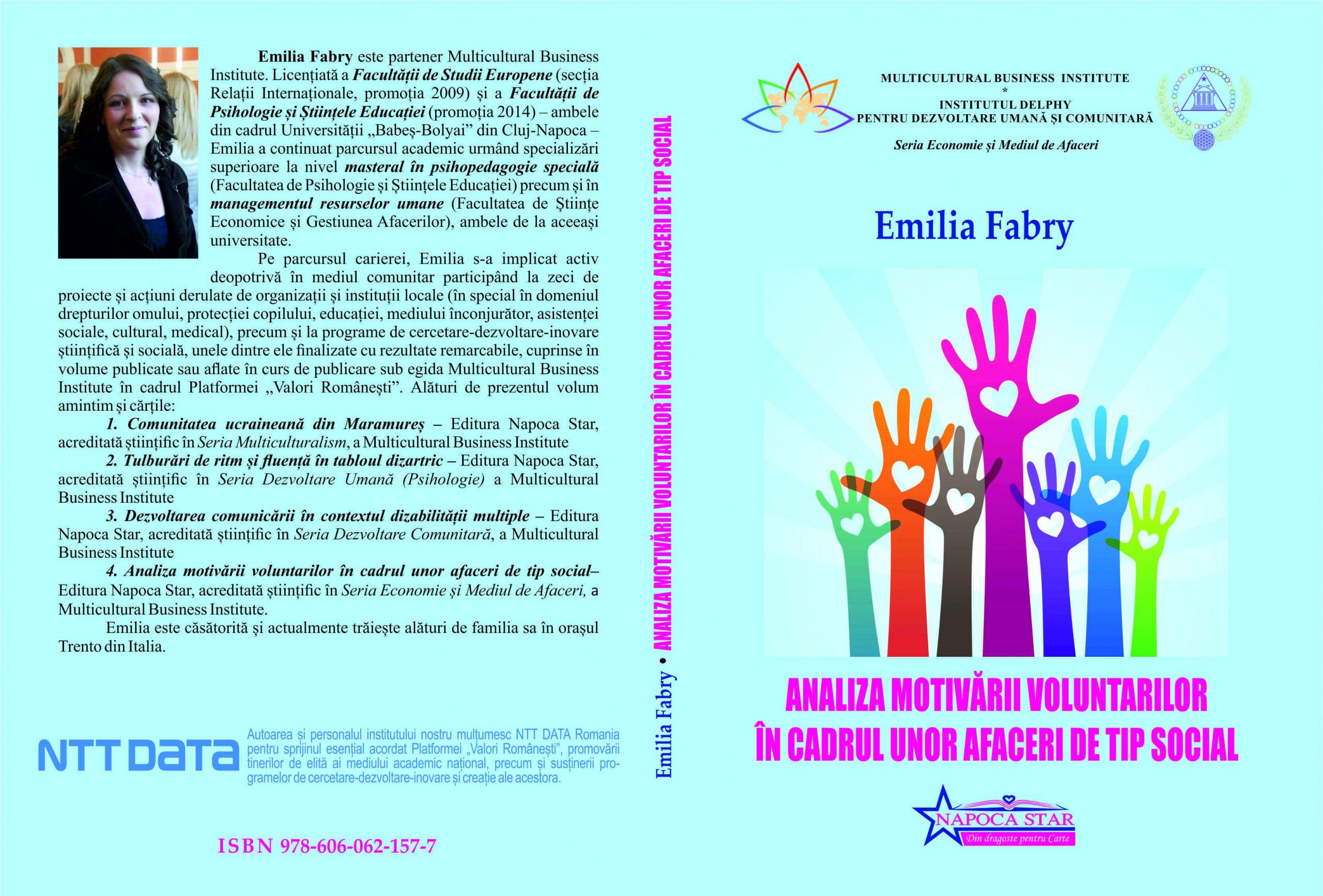 Analiza motivăii voluntarilor - Emilia Fabry
