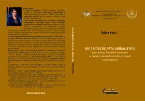 Coperta Mic tratat de artă jurnalistică -Dafina Suciu-final