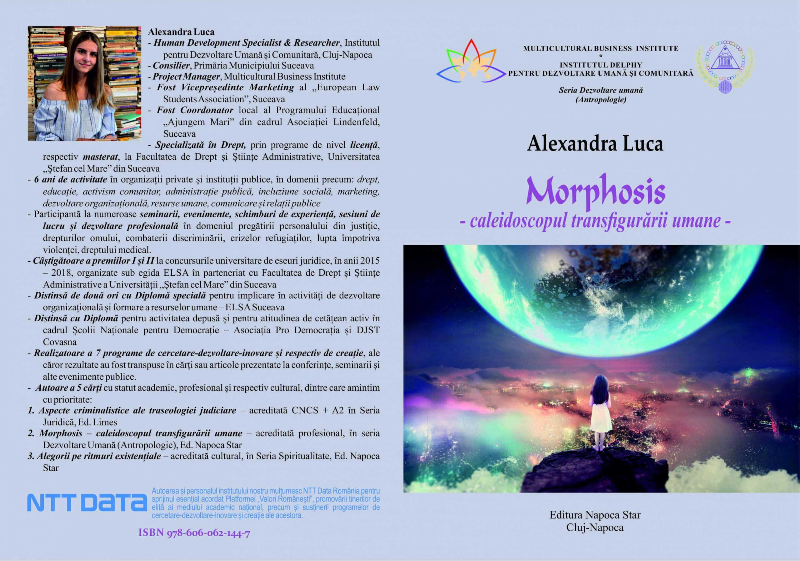 MORPHOSIS - Alexandra Luca