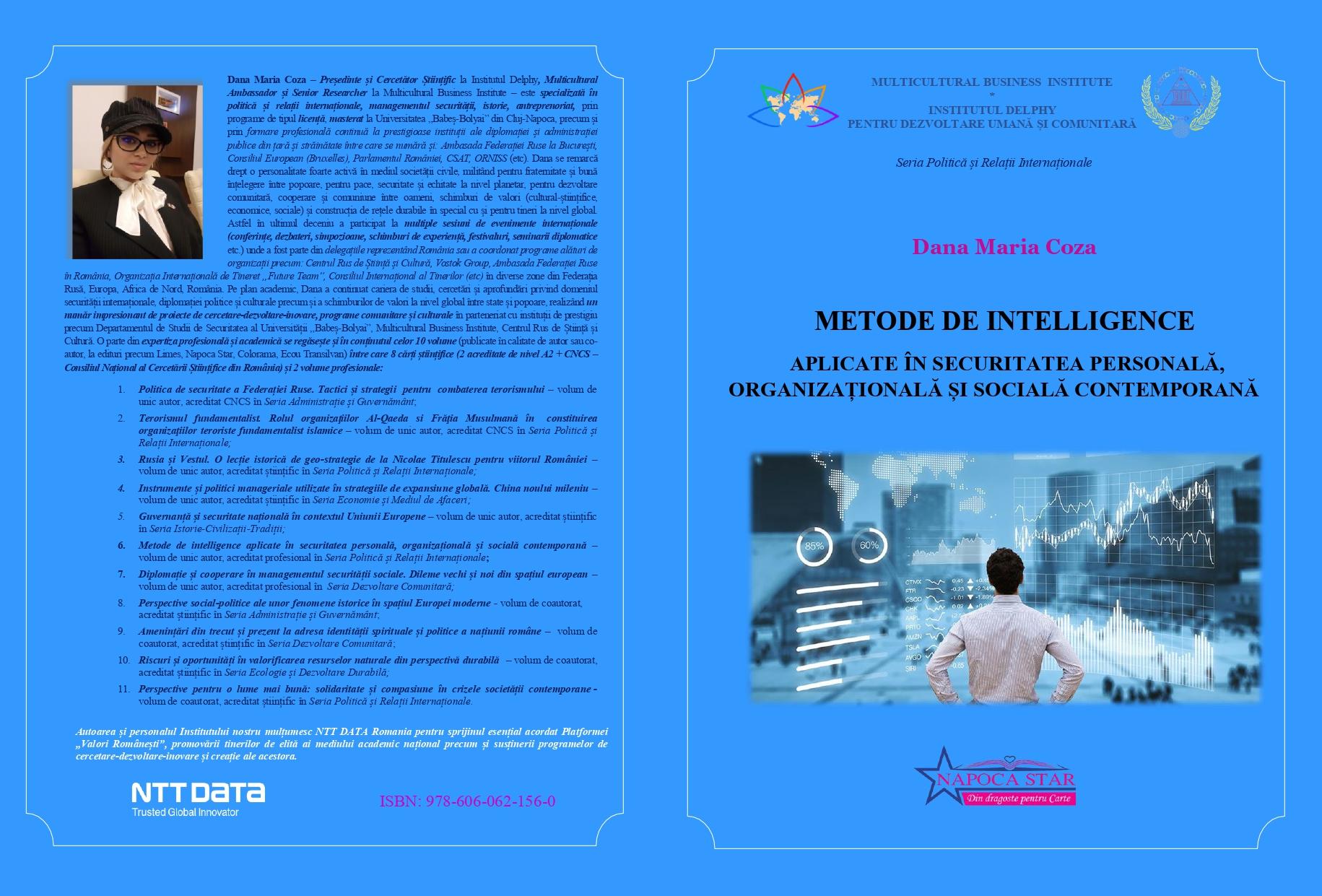 Metode de intelligence - Dana Coza
