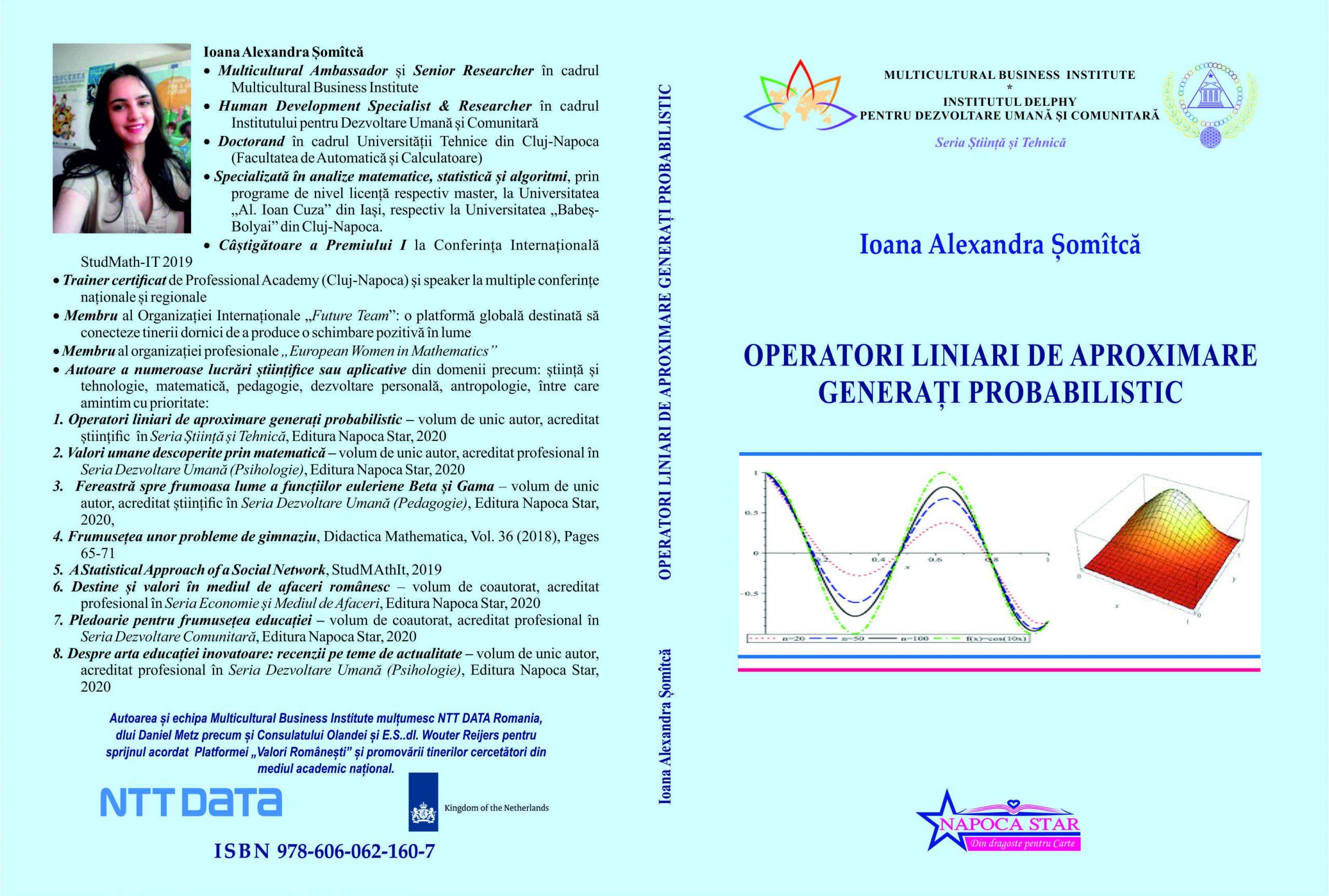 Operatori liniari - Ioana Șomîtcă