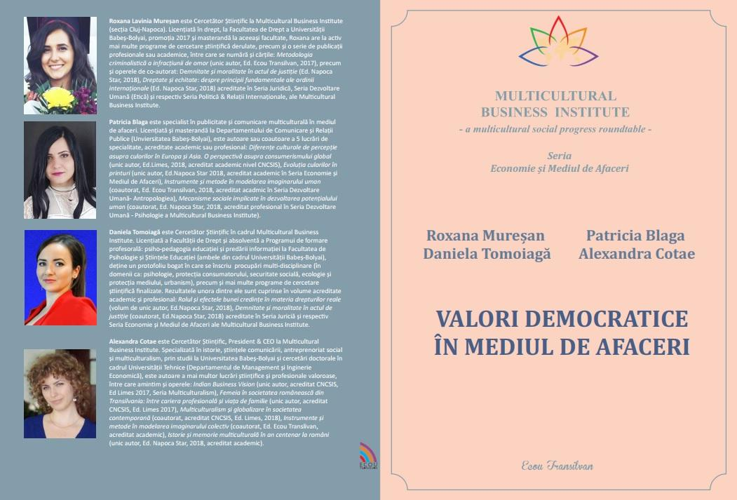 Coperta - Valori democratice