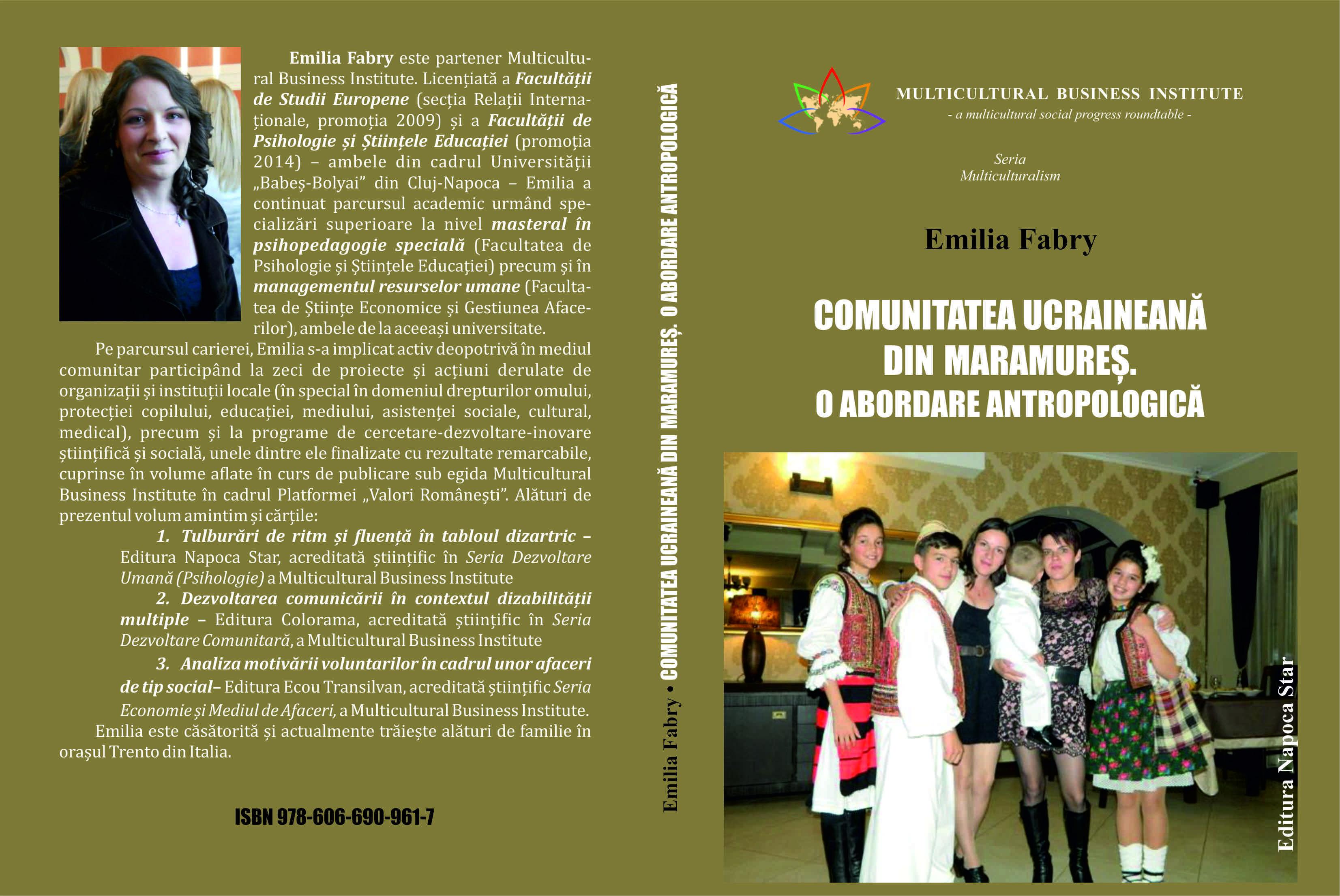 Comunitatea ucrainiană - Emilia Fabry