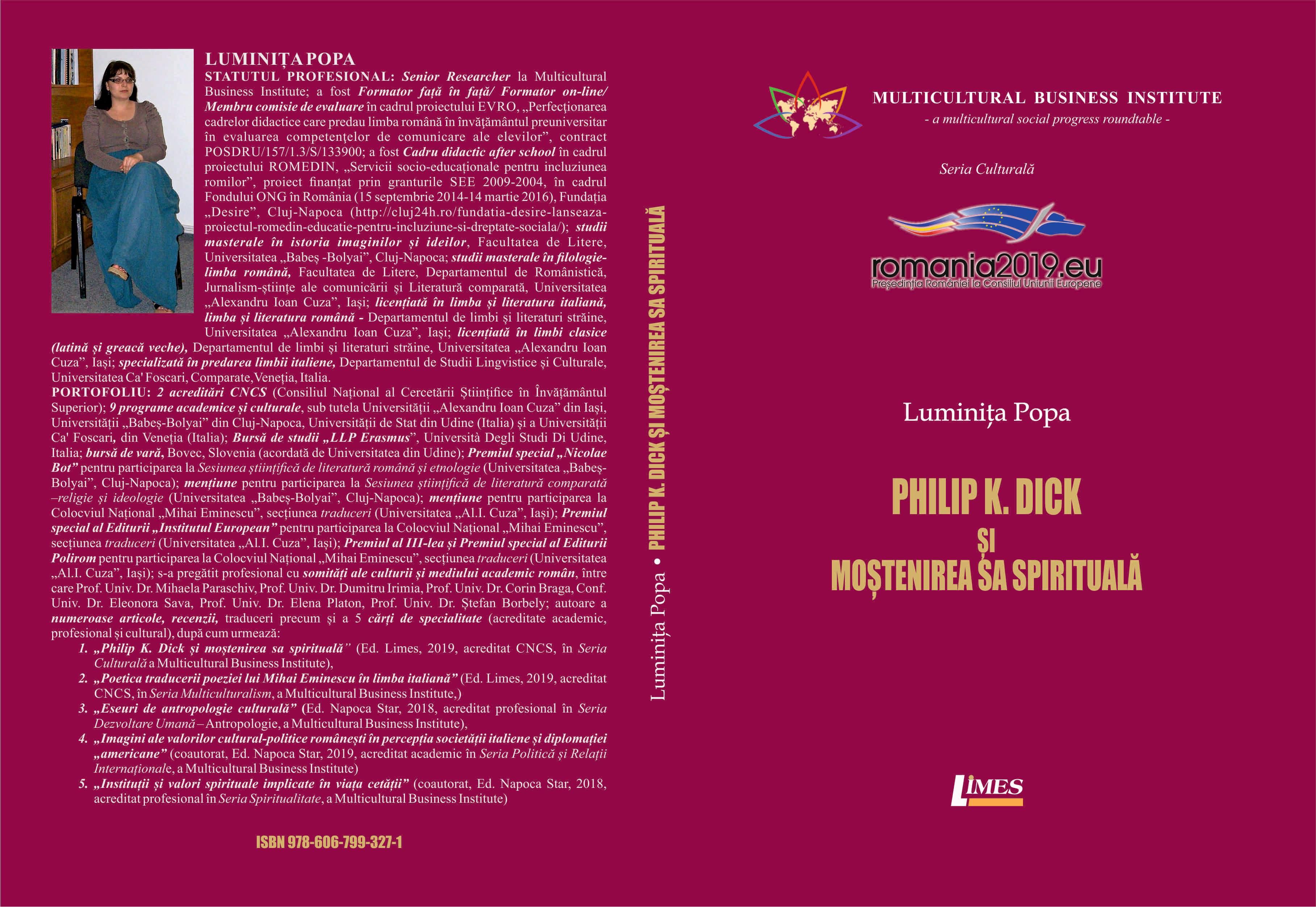 Phillip Dick - Luminita Popa