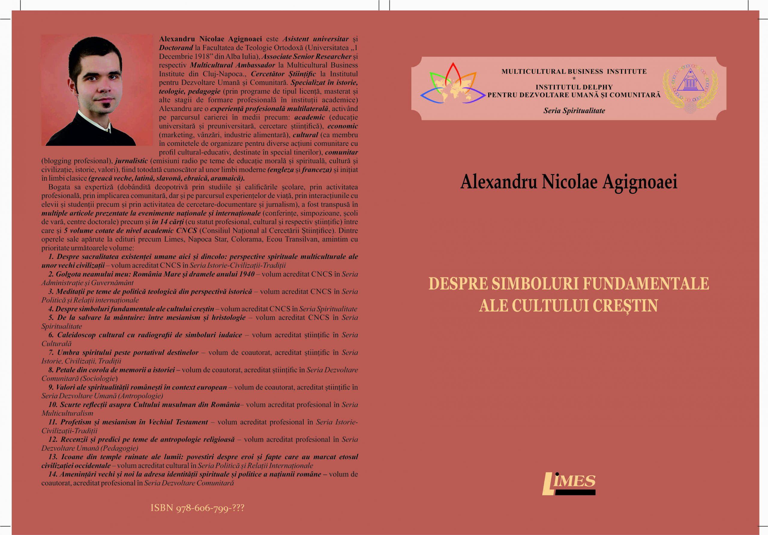Coperta Agignoaei - Despre simboluri fundamentale ale cultului creștin