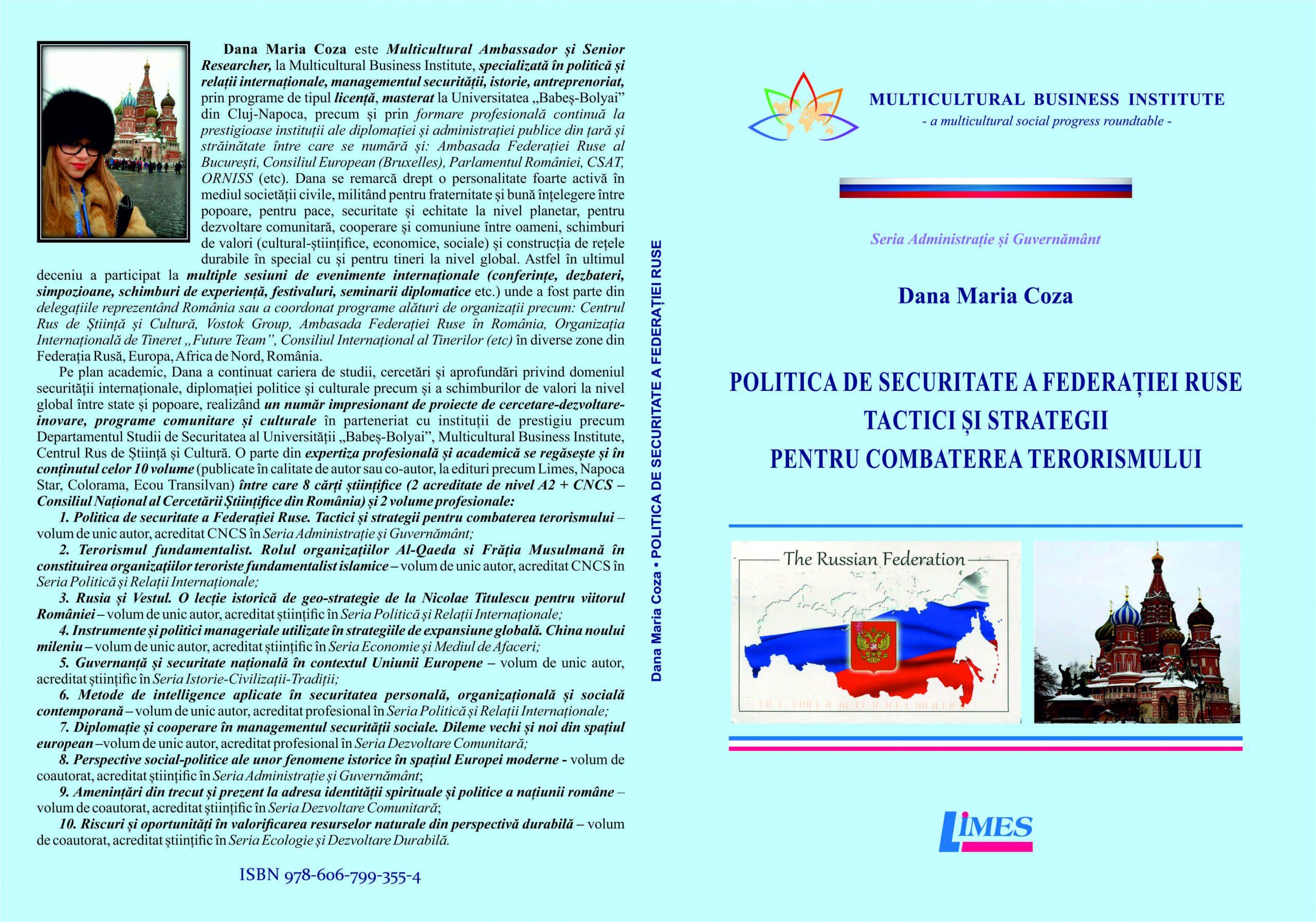 Coperta Politica de securitate a Federației Ruse