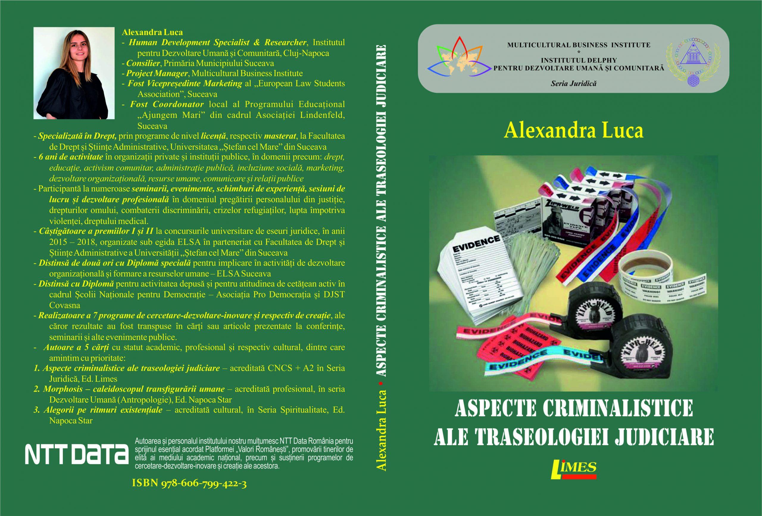 Aspecte criminalistice ale traseologiei judiciare - Alexandra Luca-logo NTT DATA