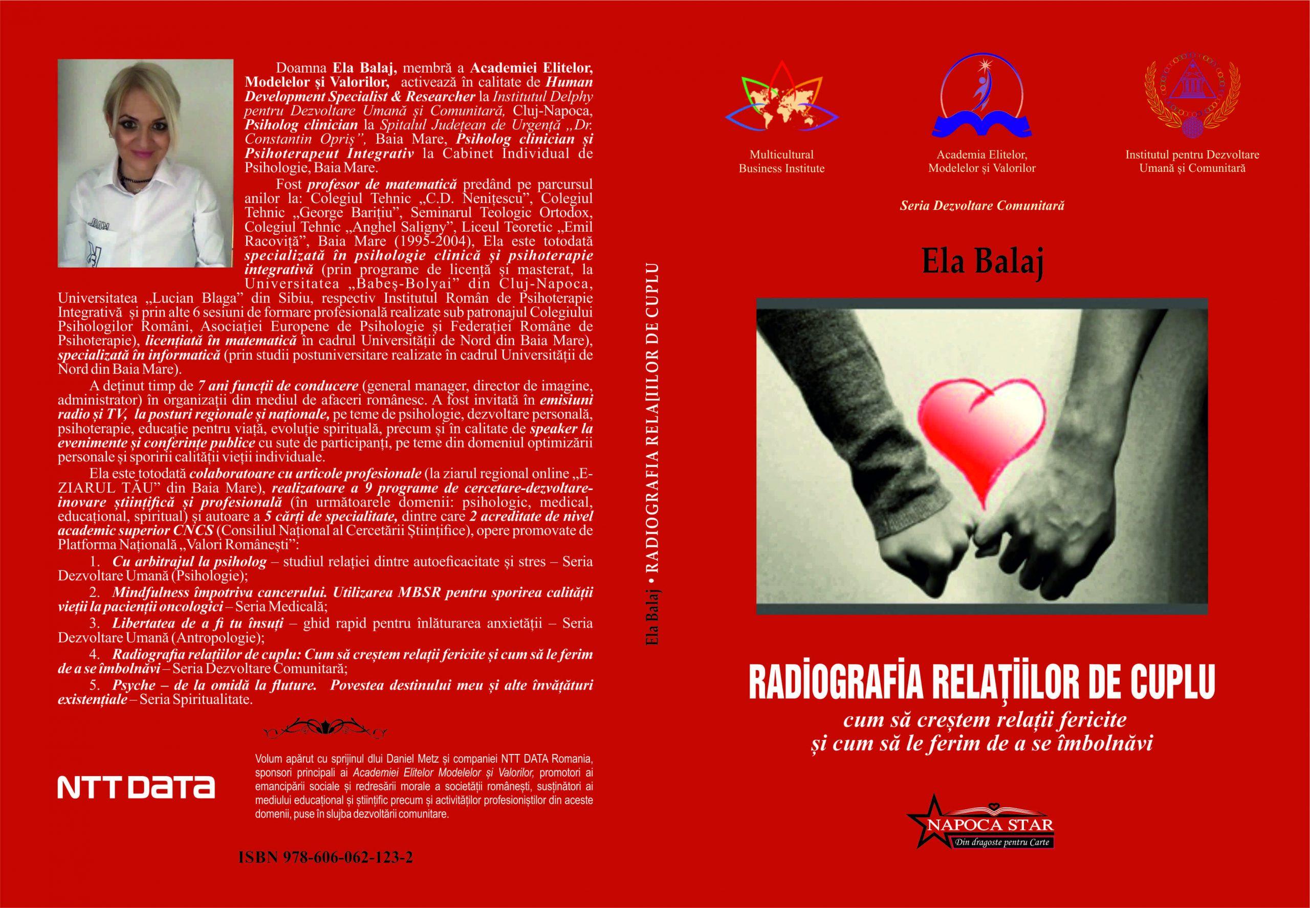 Copertă Ela Balaj - Radiografia relațiilor de cuplu